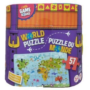 Little Game Squad World Map Puzzle - 6059777-T