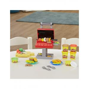 Hasbro Play-Doh Kitchen Creations Grill N Stamp Playset - F0652