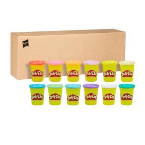 Hasbro Play-Doh Bulk Spring Colors 12-Pack - E4831