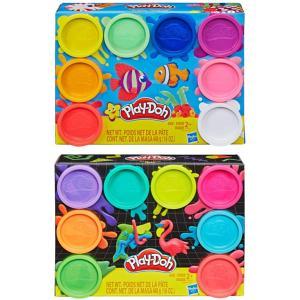 Hasbro Play-Doh Rainbow Non Toxic 8 Pack, Assortment - E5044
