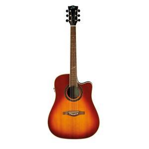 Eko Vintage Sunburst Guitar - ONE-D-EQVB