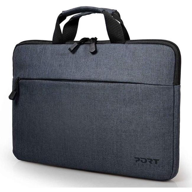 Port Designs Belize Top Loading Lightweight Padded Case for 10/13.3-Inch Laptops, Black