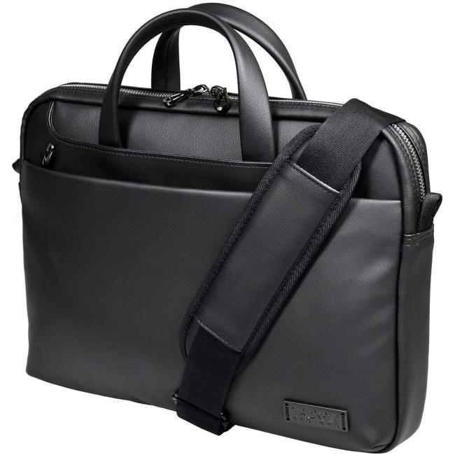 Port Designs Zurich Top Loading Padded Case Shoulder Bag for 10/13.3-Inch Laptops, Black