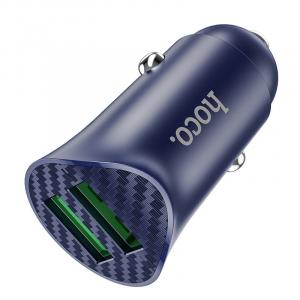 """hoco Car charger """"Z39 Farsighted"""" QC3.0 dual port"""