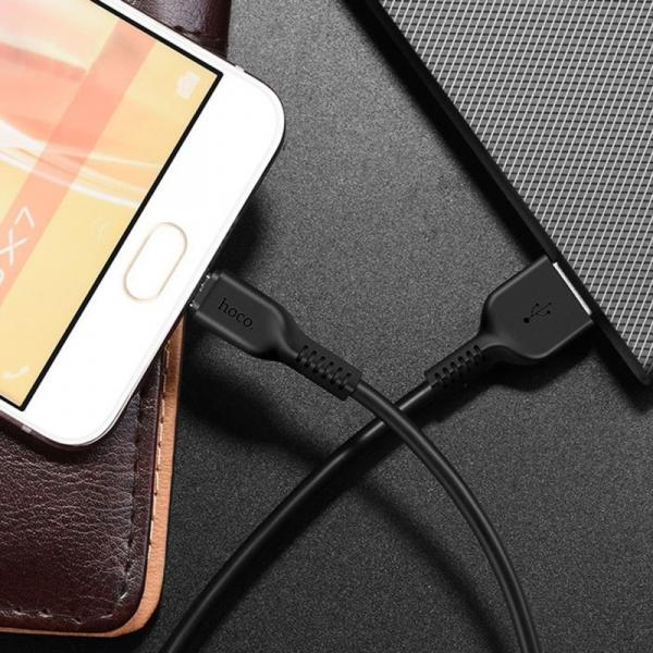 "hoco Cable ""X20 Flash"" charging data sync Micro USB"