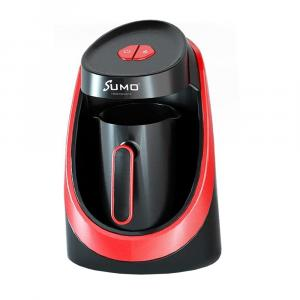 SUMO Turkish Coffee Machine Maker 400W / 500ML 4 CUPS - SCM-17 - BLACK/RED