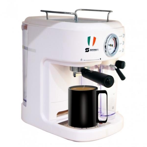 SAYONA One Touch Espresso Machine 1250W - SEM-4357 - SILVER