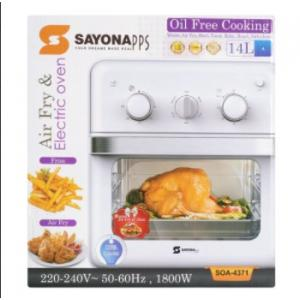 SAYONA Air Fryer & Electric Oven - 14.0L / 1800W - SOA-4371