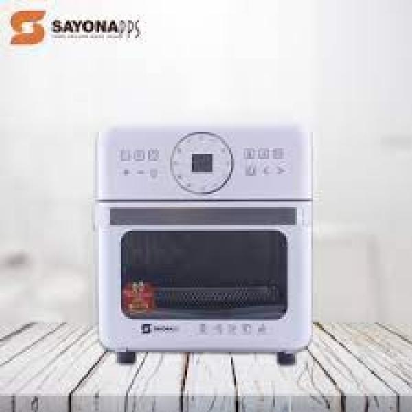 SAYONA Digital Air Fryer & Electric Oven 14.0L / 1800 W - SOA-4372- White