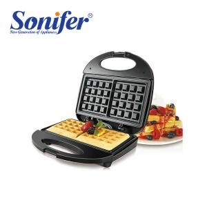 SONIFER Multifunction Waffle Non-Stick Coated Electric 750W Waffle Maker - SF-6043