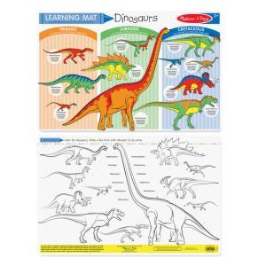 Melissa & Doug Dinosaurs Color-A-Mat (Bundle of 6) - 5027