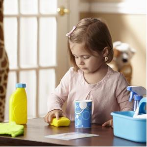 Melissa & Doug Let's Play House! Spray, Squirt & Squeegee Play Set - 8602