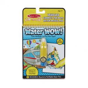 Melissa & Doug Water Wow! Connect the Dots Vehicles - 31951