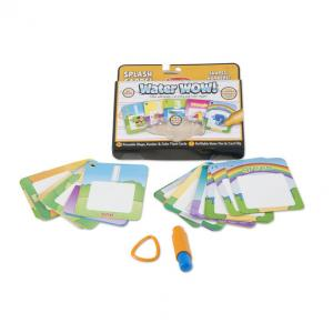Melissa & Doug Water Wow! Number, Color, Shape Cards - 5237