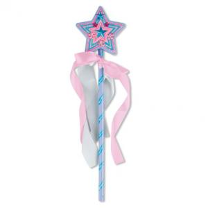 Melissa & Doug Decorate-Your-Own Wooden Princess Wand - 8856