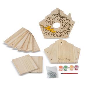 Melissa & Doug Created by Me! Birdhouse Wooden Craft Kit - 3101