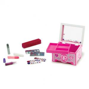 Melissa & Doug Created by Me! Jewelry Box Wooden Craft Kit - 8861
