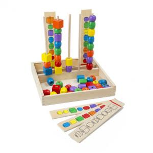 Melissa & Doug Bead Sequencing Set Classic Toy - 570