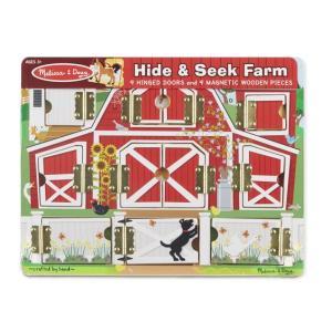 Melissa & Doug Magnetic Hide & Seek Farm - 4592