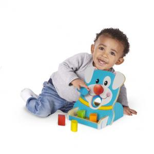 Melissa & Doug First Play Spin & Feed Shape Sorter - 30121