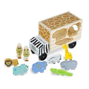 Melissa & Doug Animal Rescue Wooden Play Set - 5180