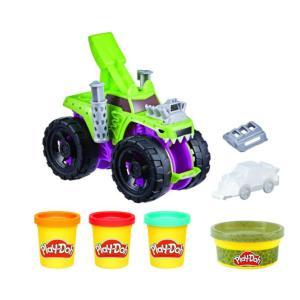 Hasbro Play-Doh Wheels Chompin' Monster Truck - F1322
