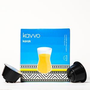 Kavvo Karak Tea Capsules | Dolce Gusto Machine Compatible Pods