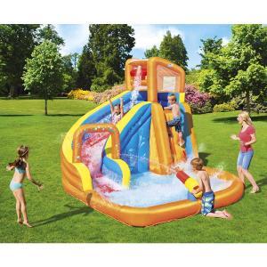 Bestway Turbo Splash Water Zone Constant Air Inflatable Water Playground 365x320x270cm - 53301