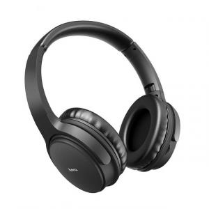 HOCO DW02 Bluetooth Wireless On-Ear MP3 Headphones With Mic With Memory Card HOCO DW02 Black