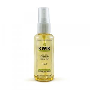 KWIK (4 In 1) Sanitizer Spray 50 Ml (Pack of 12 Pieces)
