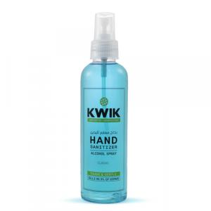 KWIK Hand Sanitizer Spray Classic 190 Ml (Pack of 12 Pieces)