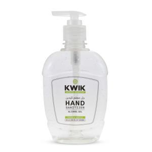 KWIK Hand Sanitizer Gel Classic 500 Ml (Pack of 24 Pieces)