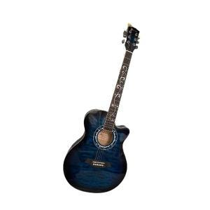 Artland Acoustic 40inch Guitar, Blue - AG4012C-Blue