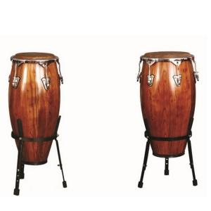 Artland Double Wooden Conga 11inch And 12inch WITH STAND - ADC1209NS