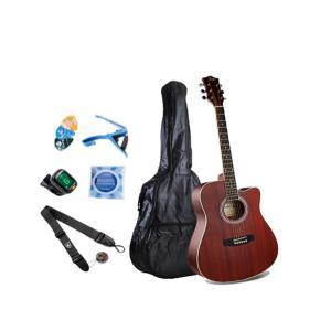 Smiger 41inch Beginner Acoustic Guitar Pack - GA-411