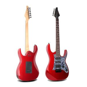Smiger High Quality Electric Guitar, Red - L-G3-MRD