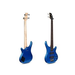 Smiger 4 Strings Electric Bass Guitar Bass, Blue - G-B3-4-MBL
