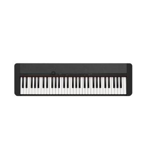 CASIO 61-Key Portable Keyboard, Black - CT-S1BKC2