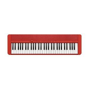 CASIO 61-Key Portable Keyboard, Red - CT-S1RDC2
