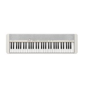 CASIO 61-Key Portable Keyboard, White - CT-S1WEC2