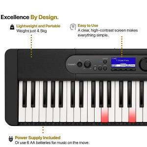 Casio 61-Key Lighting Keys Portable Keyboard - LK-S450C2