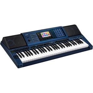 Casio 61-Key High Grade Keyboard, Blue – MZ-X500K2