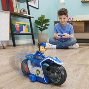 PAW Patrol, Chase RC Movie Motorcycle, Remote Control Car - 6061806-T
