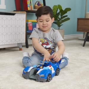 PAW Patrol, Chase 2-in-1 Transforming Movie City Cruiser Toy Car - 6060759-T