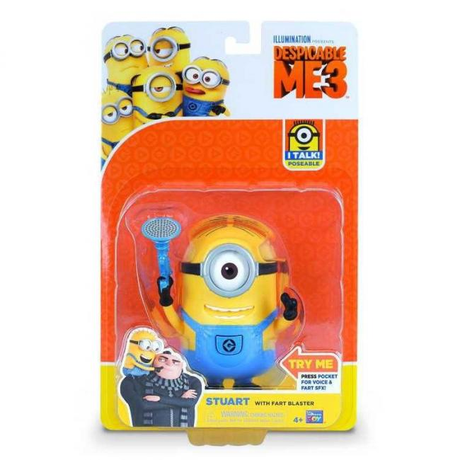 Despicable Me 3 Deluxe Talking Action Figure Assorted - 20280-DM3