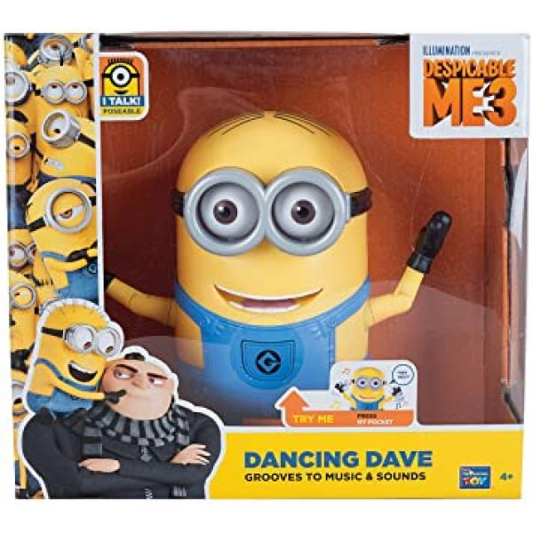 Despicable Me 3 Dancing Minions Assorted - 20285-DM3