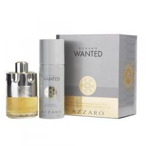 Azzaro Wanted Gift Set with Deodorant for Men