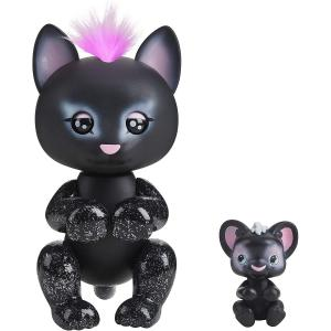 WowWee Fingerlings Light-Up Baby Black Panther - 3520-WOW-BP
