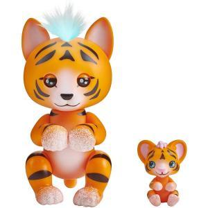WowWee Fingerlings Light-Up Orange Tiger - 3520-WOW-OT