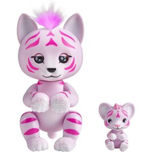WowWee Fingerlings Light-Up Baby Pink Tiger - 3520-WOW-PT